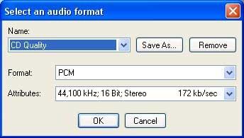CD kvalitet