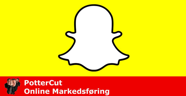 Snapchat Markedsføring